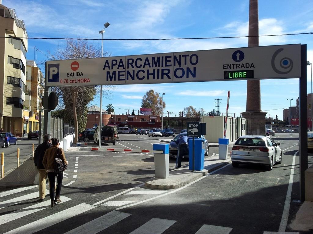 Parking de la Fundación Poncemar