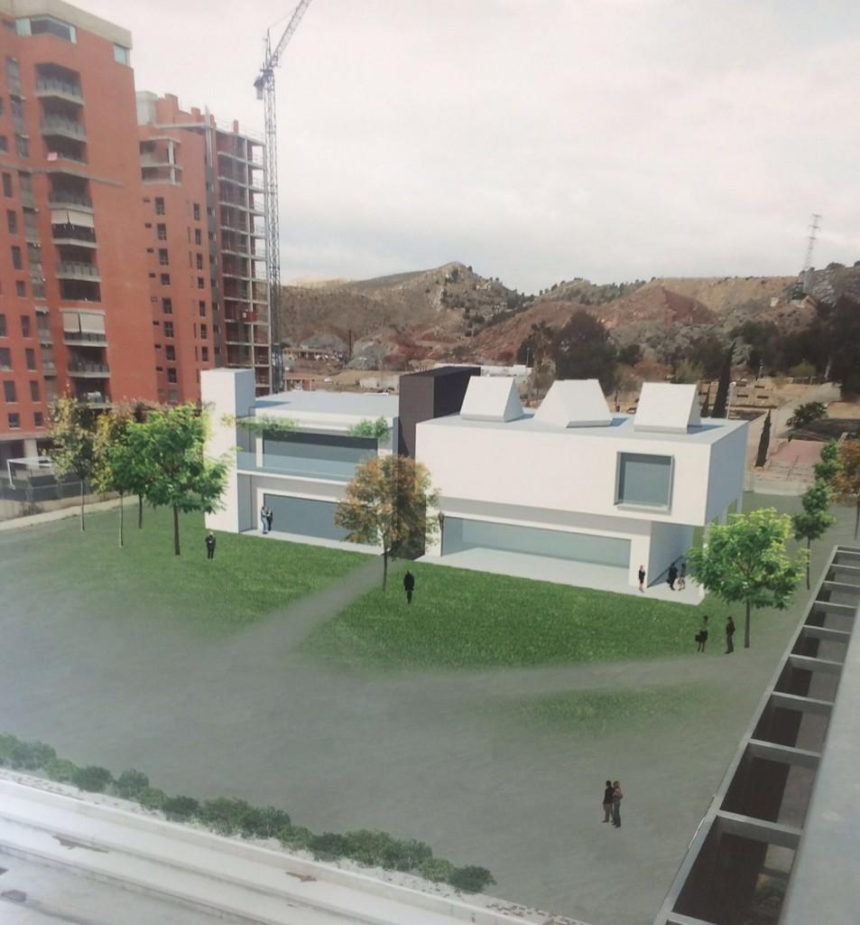 Proyecto del Centro de Día en el Campus de la Universidad de Lorca