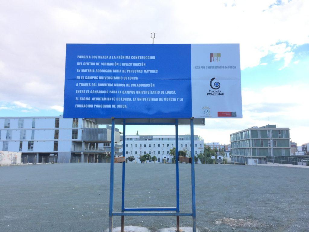 cartel anunciativo proyecto fundación poncemar